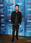 AMERICAN IDOL: David Cook arrives for the AMERICAN IDOL Finale airing Thursday, April 7 (8:00-10:06 PM ET Live/PT tape-delayed) on FOX. © 2016 FOX Broadcasting Co. Cr: Scott Kirkland/FOX