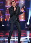 AMERICAN IDOL: Top 2 Revealed: Contestant Trent Harmon performs on AMERICAN IDOL airing Wednesday, April 6 (8:00-9:00 PM ET/PT) on FOX. © 2016 FOX Broadcasting Co. Cr: Michael Becker/ FOX.