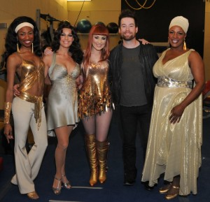 David Cook Backstage with Carly Smithson – Viva Elvis – Las Vegas