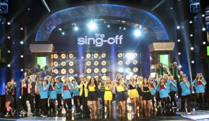 Sing-Off Song Spoilers – The Final Four