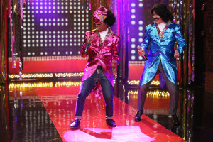 Jimmy Fallon and Pharrell Williams are Afro & Deziak (VIDEO)
