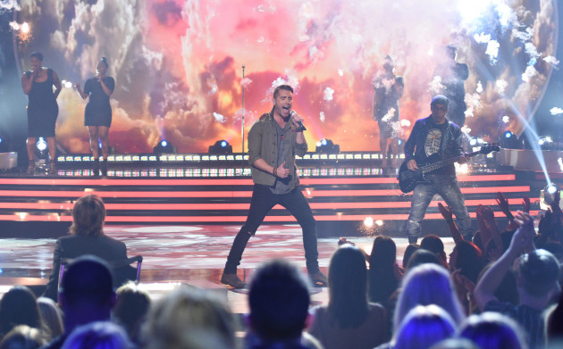 AMERICAN IDOL XIV: Nick Fradiani performs on AMERICAN IDOL XIV airing Tuesday, May 12 (9:00 PM-10:00 PM ET/PT) on FOX. CR: Michael Becker / FOX. © FOX Broadcasting. This image is embargoed until 10:00PM PT.