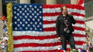 Caleb Johnson Performs National Memorial Day Parade VIDEO