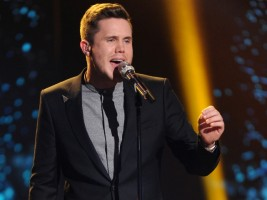 AMERICAN IDOL: Top 2 Revealed: Contestant Trent Harmon performs on AMERICAN IDOL airing Wednesday, April 6 (8:00-9:00 PM ET/PT) on FOX. © 2016 FOX Broadcasting Co. Cr: Michael Becker/ FOX. This image is embargoed until Wednesday, April 6, 10:00PM PT / 12:00AM ET