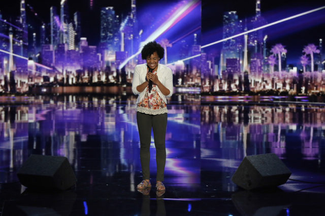 "AMERICA'S GOT TALENT -- ""CBS Radford Auditions"" -- Pictured: Jayna Brown -- (Photo by: Vivian Zink/NBC)"