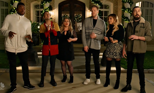Kelly Clarkson Pentatonix I'll Be Home for Christmas