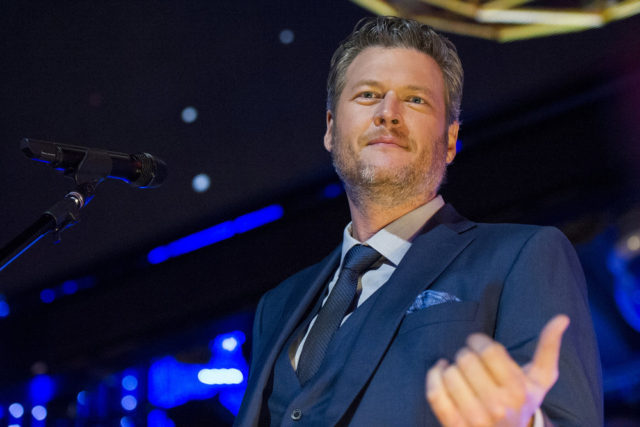 NBC'S NEW YEARS EVE WITH CARSON DALY -- Pictured: Blake Shelton performs during NBC's New Years Eve with Carson Daly -- (Photo by: Nicole Weingart/NBC)