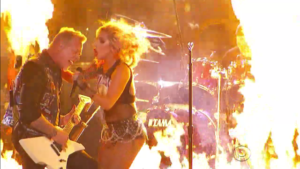 2017 Grammys – Lady Gaga & Metallica Tech Plagued Performance VIDEO