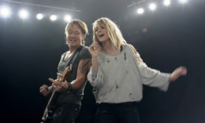 keith urban carrie underwood the fighter music video