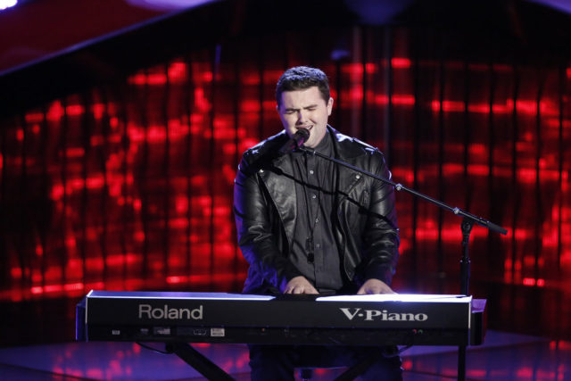 """THE VOICE -- """"Blind Auditions"""" -- Pictured: Jack Cassidy -- (Photo by: Tyler Golden/NBC)"""