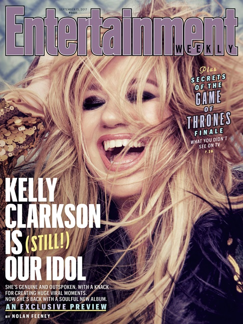 Kelly Clarkson Entertainment Weekly 2017 Cover