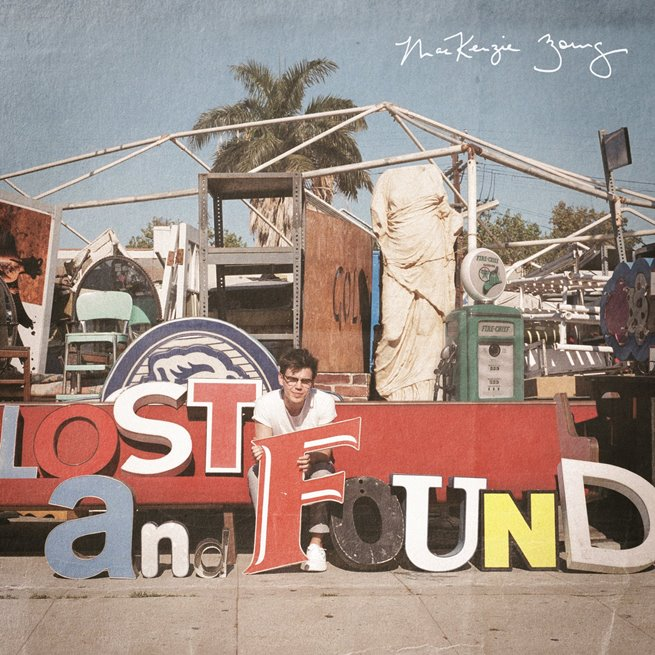 MacKenzie Bourg Lost and Found Cover Art