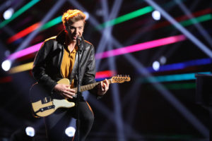 "THE VOICE -- ""Live Top 12"" Episode 1317A -- Pictured: Noah Mac -- (Photo by: Tyler Golden/NBC)"
