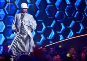 """THE FOUR: BATTLE FOR STARDOM: Contestant Sharaya J performs in the """"Week Three"""" episode of THE FOUR: BATTLE FOR STARDOM airing Thursday, June 21 (8:00-10:00 PM ET/PT) on FOX. CR: Ray Mickshaw / FOX. © 2018 FOX Broadcasting Co."""