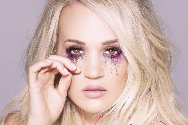 Carrie Underwood Cry Pretty Album Cover-Feat