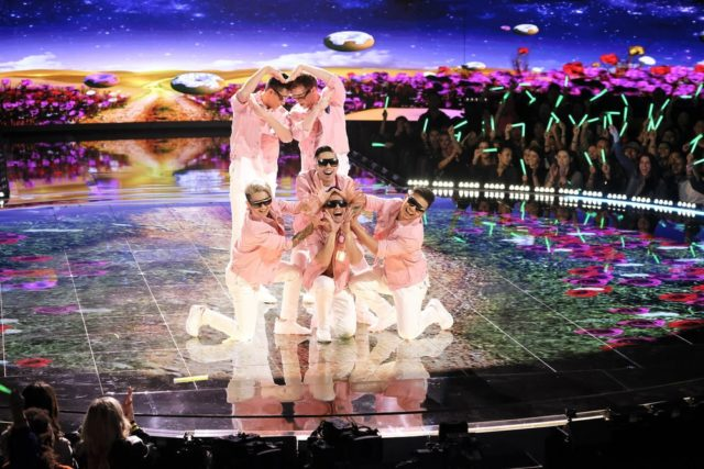 """WORLD OF DANCE -- """"The Cut"""" Episode 214 -- Pictured: Poreotics -- (Photo by: Justin Lubin/NBC)"""