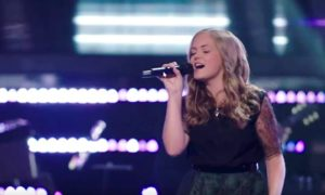 Sarah Grace The Voice Season 15 Blind Audition