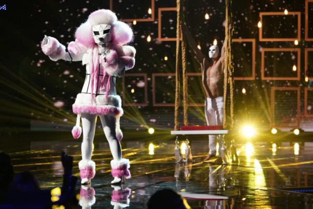 "THE MASKED SINGER: Poodle in the ""Another Mask Bites the Dust"" airing Wednesday, Jan. 23 (9:00-10:00 PM ET/PT) on FOX. © 2019 FOX Broadcasting. Cr: Michael Becker / FOX."