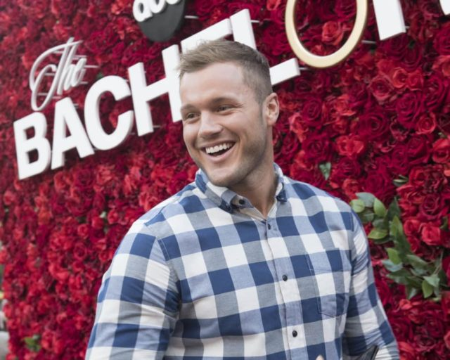THE BACHELOR - Will you accept this rose? In celebration of tonightÕs premiere of The Bachelor on ABC, thousands of guests visiting The Grove in Los Angeles over the weekend posed for photos at a gorgeous show-inspired rose wall installation. Over ten thousand long stem roses were also distributed throughout the upscale shopping destination. Bachelor Colton Underwood made a surprise appearance at the rose wall, delighting a swarm of unsuspecting fans waiting to take their photo. Other Bachelor Nation alumni also made appearances throughout the weekend, including Wells Adams, Eric Bigger, Wills Reid, Krystal Nielson, Chris Randone, Jade and Tanner Tolbert, and Annaliese Puccini. Be sure to watch ColtonÕs journey for love unfold, starting tonight at 8|7c on ABC. (ABC/Aaron Poole) COLTON UNDERWOOD