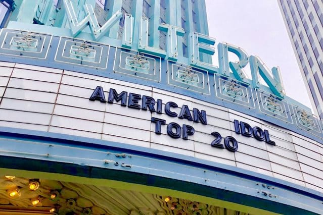 American Idol 2019 Top 20 at the Wiltern