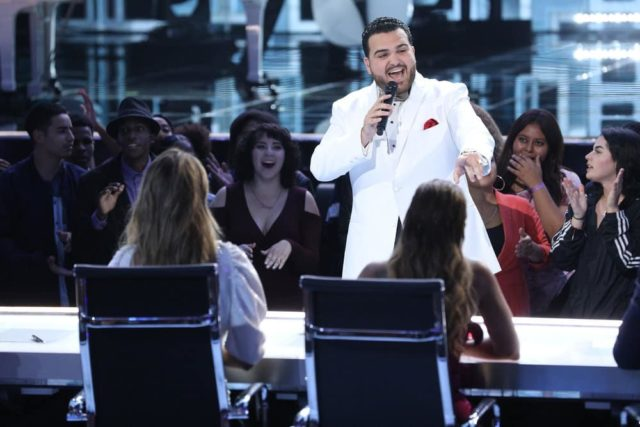 "AMERICA'S GOT TALENT: THE CHAMPIONS -- ""The Champions Five"" Episode 105 -- Pictured: Sal Valentinetti -- (Photo by: Jordin Althaus/NBC)"