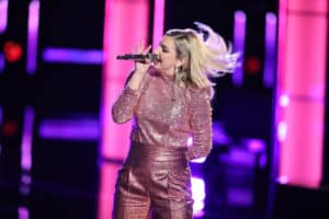"""THE VOICE -- """"Live Cross Battles"""" Episode 1611A -- Pictured: Presley Tennant -- (Photo by: Tyler Golden/NBC)"""
