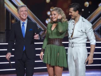 DANCING WITH THE STARS - (ABC/Eric McCandless) TOM BERGERON, LAUREN ALAINA, GLEB SAVCHENKO