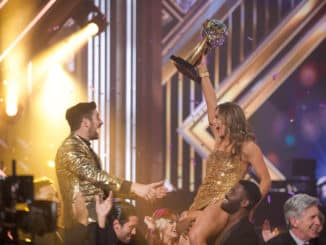 "DANCING WITH THE STARS - ""Finale"" - It all comes down to this as four celebrity and pro-dancer couples return to the ballroom to compete and win the Mirrorball trophy on the 11th and final week of the 2019 season of ""Dancing with the Stars,"" live, MONDAY, NOV. 25 (8:00-10:00 p.m. EST), on ABC. (ABC/Eric McCandless) ALAN BERSTEN, HANNAH BROWN"