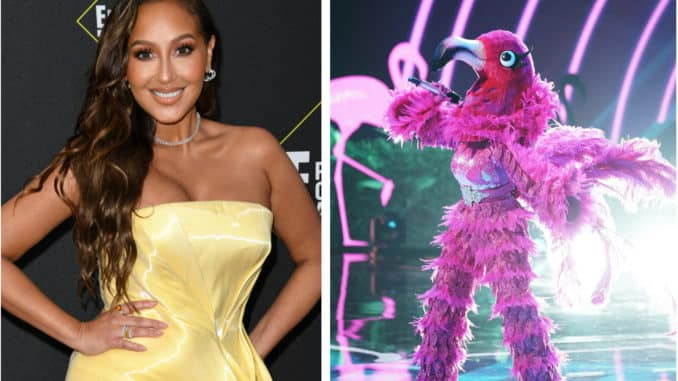 The Masked Singer Adrienne Bailon Houghton Flamenco