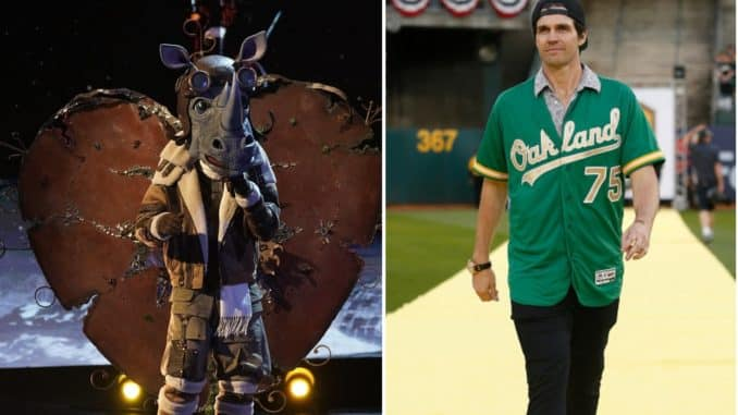 The Masked Singer Rhino is Barry Zito