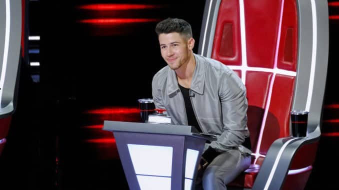 "THE VOICE -- ""Blind Auditions"" -- Pictured: Nick Jonas -- (Photo by: Trae Patton/NBC)"