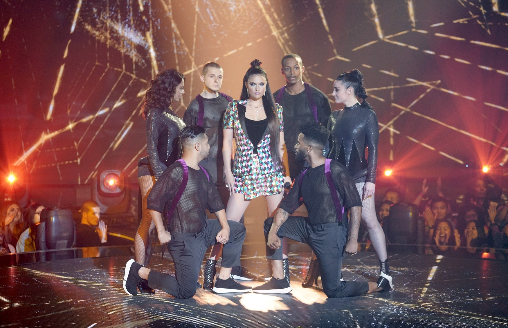 "THE FOUR: BATTLE FOR STARDOM: Contestant Whitney Reign in the ""The Finale"" Season Two finale episode of THE FOUR: BATTLE FOR STARDOM airing Thursday, August 2 (8:00-10:00 PM ET/PT) on FOX. CR: Michael Becker / FOX. © 2018 FOX Broadcasting Co."